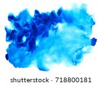 watercolor background | Shutterstock . vector #718800181