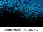 light blue vector modern... | Shutterstock .eps vector #718807417