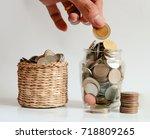 save money save money concept... | Shutterstock . vector #718809265