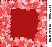 vector background pattern.... | Shutterstock .eps vector #718822255