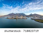 aerial cape town south africa | Shutterstock . vector #718823719