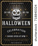 Halloween Celebration Poster I...