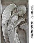 angel praying and reading | Shutterstock . vector #71886691
