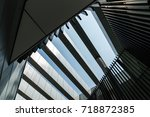 look up to the sky with... | Shutterstock . vector #718872385