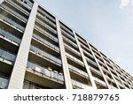 modern  luxury apartment... | Shutterstock . vector #718879765