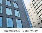 modern office building | Shutterstock . vector #718879819