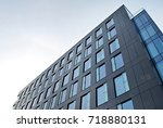 modern office building | Shutterstock . vector #718880131
