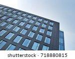 modern office building | Shutterstock . vector #718880815