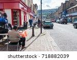 leeds  yorkshire uk  september... | Shutterstock . vector #718882039