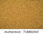 abstract glitter  lights... | Shutterstock . vector #718882465