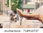 house. | Shutterstock . vector #718910737