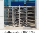 especially equipped safe exit... | Shutterstock . vector #718913785