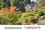 the caledonian hall  popular...   Shutterstock . vector #718932475