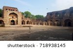 mosque campus | Shutterstock . vector #718938145