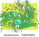 abstract background. spotted... | Shutterstock .eps vector #718954891