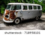 Antique Old Rusted Gray...