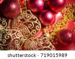 christmas background   Shutterstock . vector #719015989