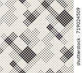 modern stylish halftone texture.... | Shutterstock .eps vector #719024509