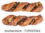 delicious crispy breakfast of... | Shutterstock . vector #719025361