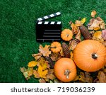 Clapboard And Autum Leaves...