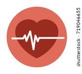 heart rate | Shutterstock .eps vector #719046655