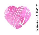 heart isolated | Shutterstock .eps vector #719048239