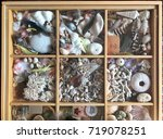 shadow box display collection... | Shutterstock . vector #719078251