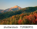 autumn morning in the wasatch... | Shutterstock . vector #719080951