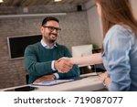 financial advisor. | Shutterstock . vector #719087077