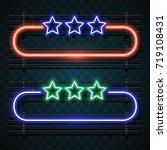 neon design | Shutterstock .eps vector #719108431
