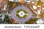aerial view of victory monument ... | Shutterstock . vector #719131609