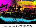abstract background. multi... | Shutterstock . vector #719135974