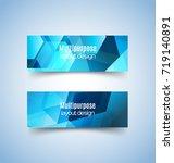 multipurpose layout design. ... | Shutterstock .eps vector #719140891