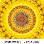 Abstract Fractal Kaleidoscope...