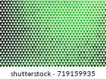 light green vector geometric... | Shutterstock .eps vector #719159935