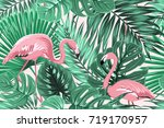 Tropical Seamless Pattern...