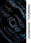 dark blue modern geometrical...   Shutterstock . vector #719185465