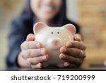 saving money   Shutterstock . vector #719200999
