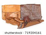 natural brown leather. leather