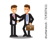 businessman character design... | Shutterstock .eps vector #719207611