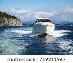 speed boat | Shutterstock . vector #719211967