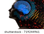 ai artificial intelligence ... | Shutterstock . vector #719244961