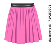 skirt | Shutterstock .eps vector #719250301
