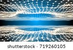 3d spherical field inside of a...   Shutterstock . vector #719260105