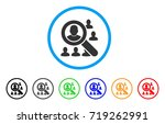 find users rounded icon. style... | Shutterstock .eps vector #719262991