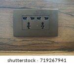 home socket | Shutterstock . vector #719267941