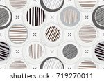 abstract home decorative art... | Shutterstock . vector #719270011