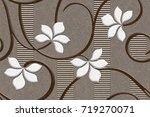 abstract home decorative art... | Shutterstock . vector #719270071