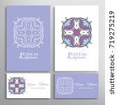 mandala sign symbol  colorful...   Shutterstock .eps vector #719275219