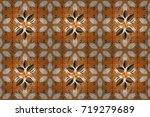 raster floral background. print.... | Shutterstock . vector #719279689